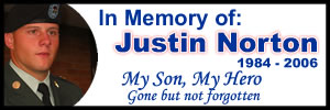 Please visit Justin's Website to learn more about this fallen hero